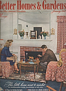Better Homes & Gardens magazine- January 1942 (Image1)