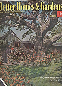 Better Homes & Gardens magazine - April 1942 (Image1)
