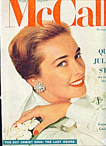 Mccall's Magazine May 1957 Vera Miles Cover
