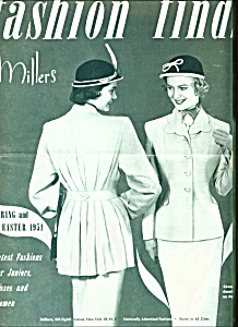 Fashion finds by Miller's magazine - 1951 (Image1)