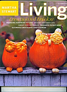 Martha Stewart Living magazine - October 2003 (Image1)