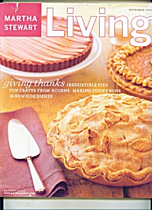 Martha Stewart Living Magazine - November 2003