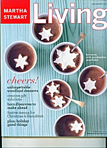 Martha Stewart living magazine - December 2003 (Image1)