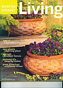 Martha Stewart Living Magazine - March 2003