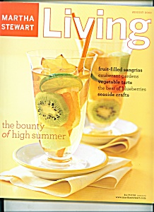 Martha Stewart Living magazine - August 2003 (Image1)
