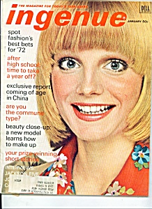 Ingenue magazine - January  1972 (Image1)