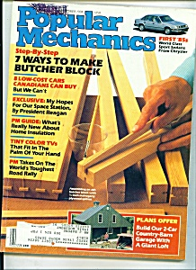 Popular Mechanics -  September 1984 (Image1)