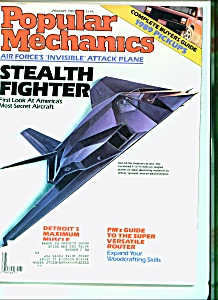 Popular Mechanics -  January 1989 (Image1)
