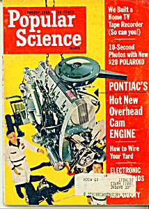 Popular Science - August 1965
