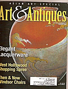 ART  &  ANTIQUES  MAGAZINE -  February 2003 (Image1)