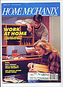 Home Mechanix -  January 1990 (Image1)