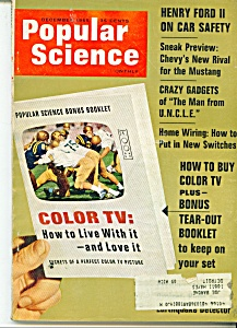 Popular Science magazine -December 1965 (Image1)