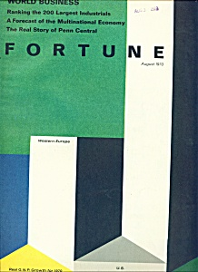 Fortune magazine - August 1970 (Image1)