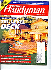 The Family Handyman - April 1990 (Image1)
