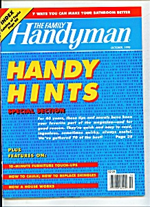 The Family Handyman - October 1990 (Image1)