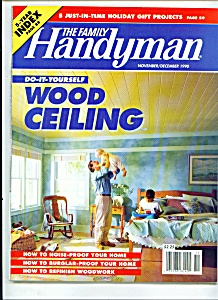 The Family Handyman - November/december 1990