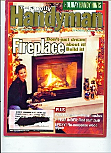 The Family Handyman December/ January 2001 (Image1)