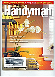 The Family Handyman - November 2002