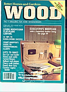 Wood - Home woodworkers - February 1991 (Image1)