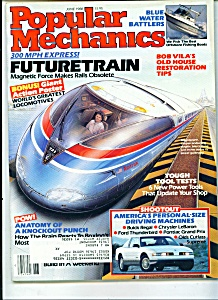 Popular Mechanics - June 1988 (Image1)