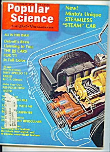 Popular Science Magazine - October 1970