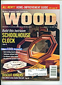 Wood Magazine - October 1999