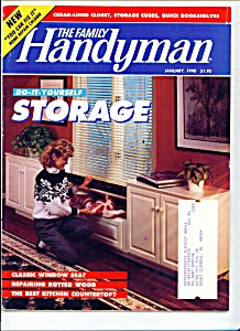The Family Handyman  - January 1990 (Image1)