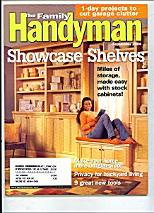 The Family Handyman - September 2004 (Image1)
