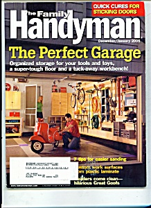 The Family Handyman  - Dec., January 2005 (Image1)
