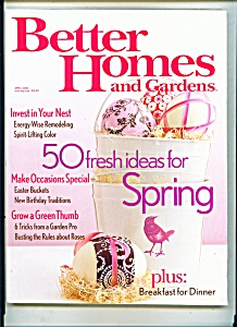 Better Homes & Gardens -  April 2006 (Image1)
