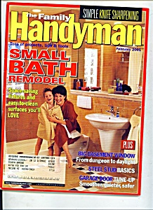 The Family Handyman - february 2001 (Image1)