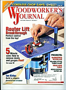 woodworker's Journal - June 2003 (Image1)