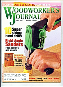 Woodworker's Journal - August 2003