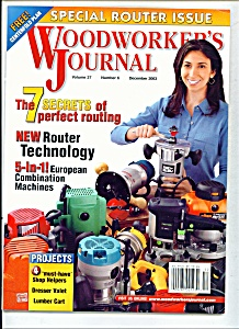 Woodworker's journal - December 2003 (Image1)