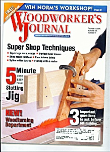 Woodworker's Journal - February 2004