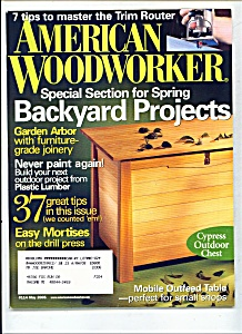 American Woodworker -  May 2005 (Image1)