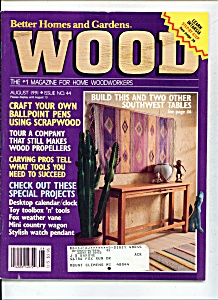 Wood magazine - August 1991 (Image1)