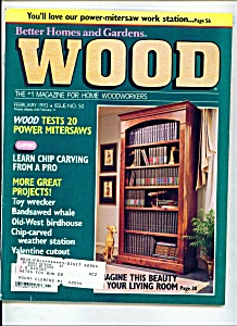 Wood magazine -  February 1992 (Image1)