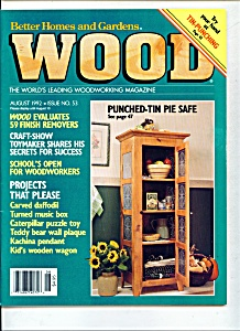 Wood magazine - August 1992 (Image1)