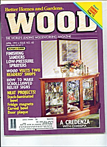 Wood Magazine - April 1993
