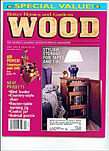 wood Magazine -  April 1994 (Image1)