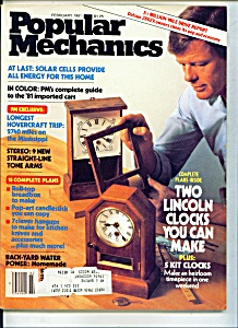 Popular Mechanics - FEbruary 1981 (Image1)