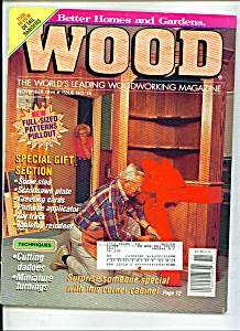 Wood magazine - November  1994 (Image1)