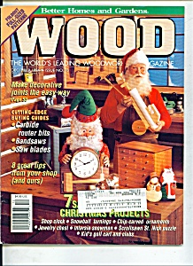 Wood Magazine - December 1994 (Image1)