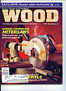 Wood Magazine - April 1996 (Image1)