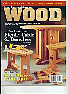 Wood Magazine - June 1996 (Image1)