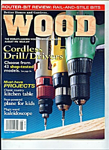 wood magazine - August 1996 (Image1)