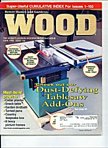 Wood magazine -  June 1998 (Image1)