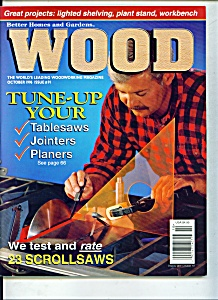 Wood Magazine - October 1996