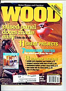 Wood Magazine -  October 2002 (Image1)